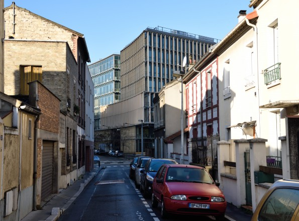 Plus de 100 riverains du Collectif « Pleyel A Venir » redoutent la transformation de leur quartier.